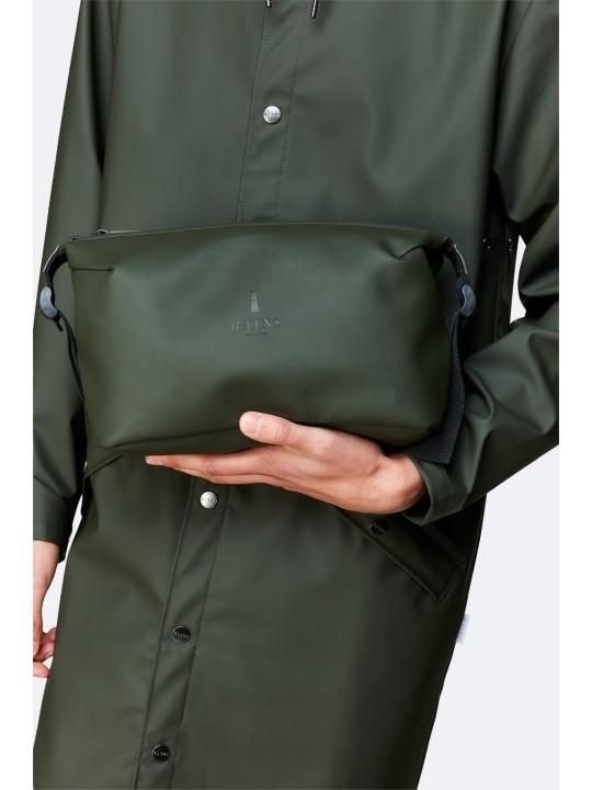 Rains Weekend Wash Bag Green