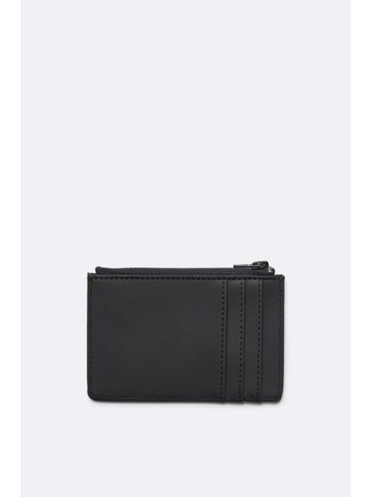 Rains Zip Wallet Black