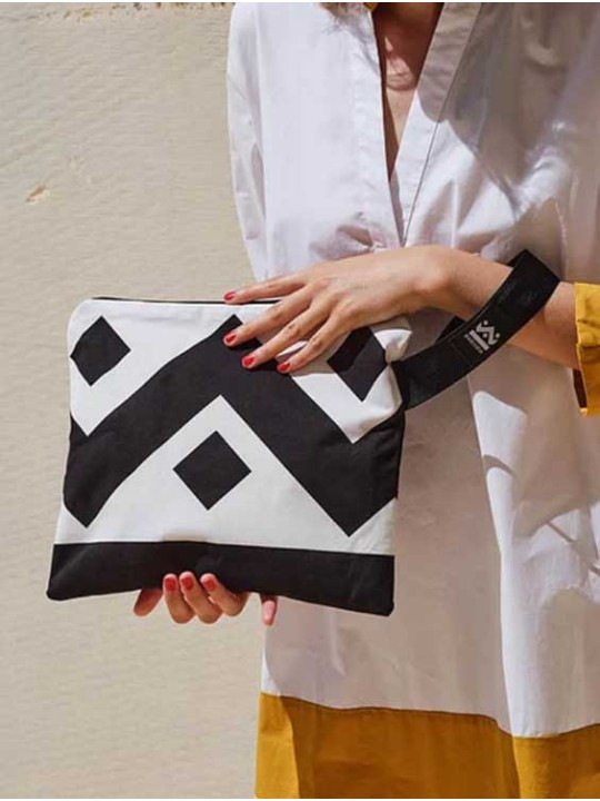 Handmade Bag - SquareW-Monogram Black