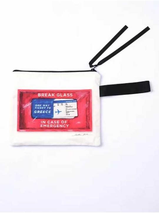 Handmade Bag - Ticket To Greece