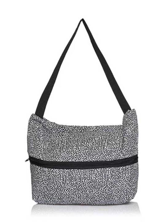 Handmade Tote Bag  - Square 2B - Camel Print