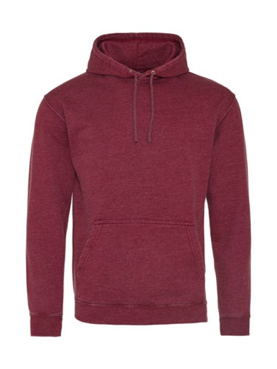 All We Do Hooded Washed Burgundy