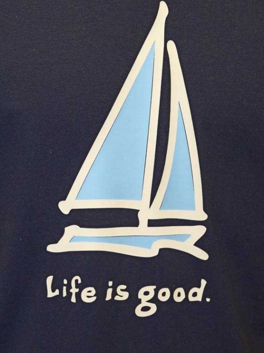 Life Is Good - Boat