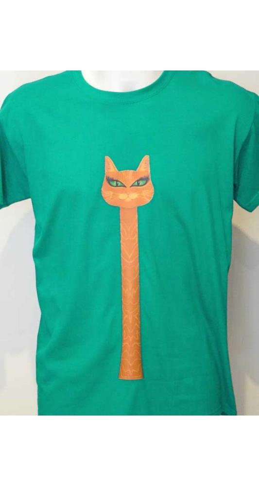 Long Neck Cat T-Shirt