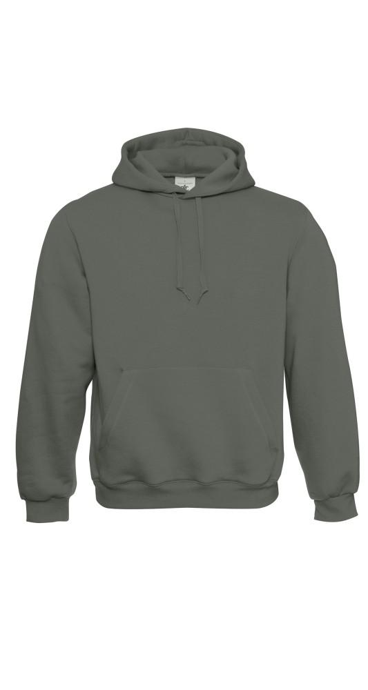 B&C Hooded Millenial Khaki