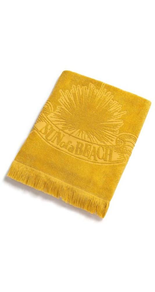 Monochrome Beach Towel Just Curry