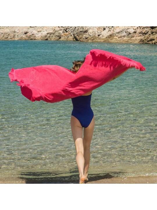 Monochrome Beach Towel Just Watermelon