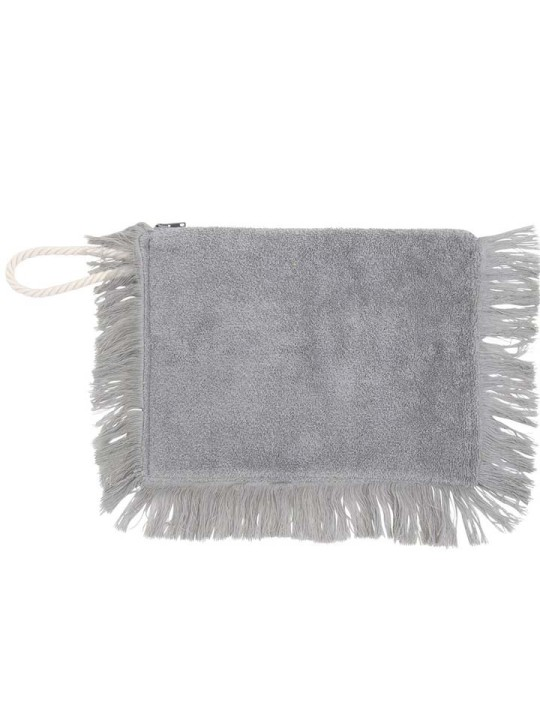 Fringy Clutch Patmos Silver