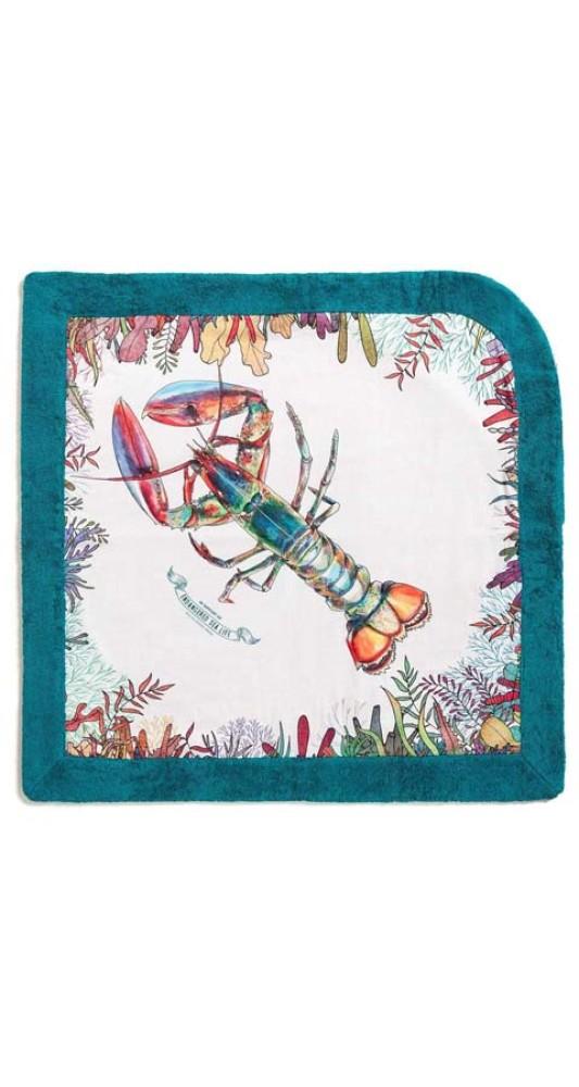 Signature Baby Beach Towel WWF Lobster