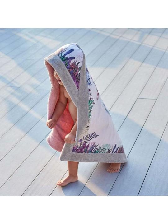 Signature Baby Beach Towel WWF Seahorse