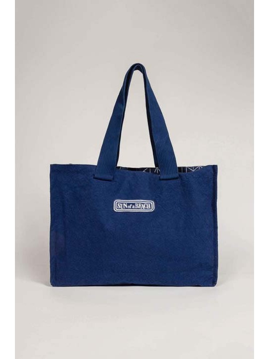 Double Tote Beach Bag Just Navy Tinos