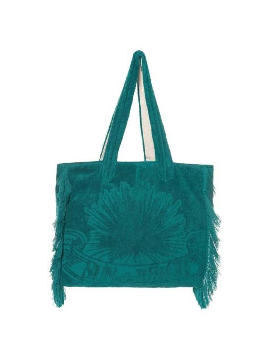 Tote Beach Bag Just Teal