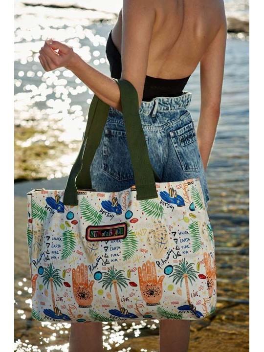 Tote Beach Bag Your Summer Destiny