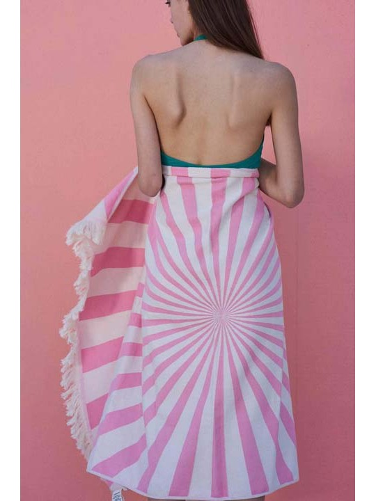 Feather Beach Towel Lollipop
