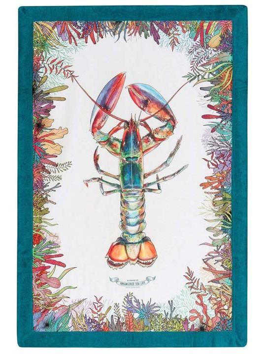 Signature Beach Towel WWF Lobster